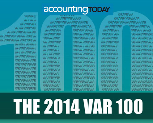 Accounting Today 2014 VAR 100