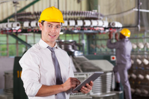 modern textile factory manager