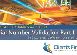 Microsoft Dynamics AX 2012 R3 Training Video