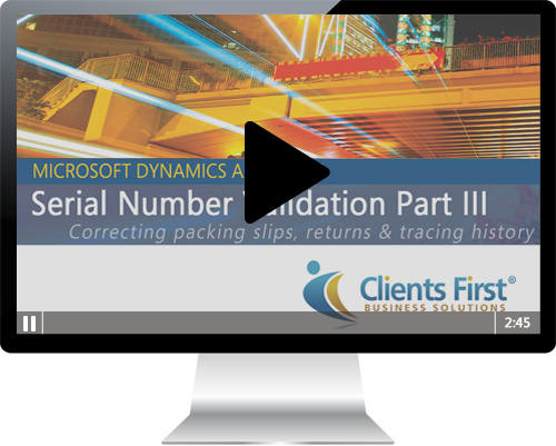 Dynamics AX Tutorial