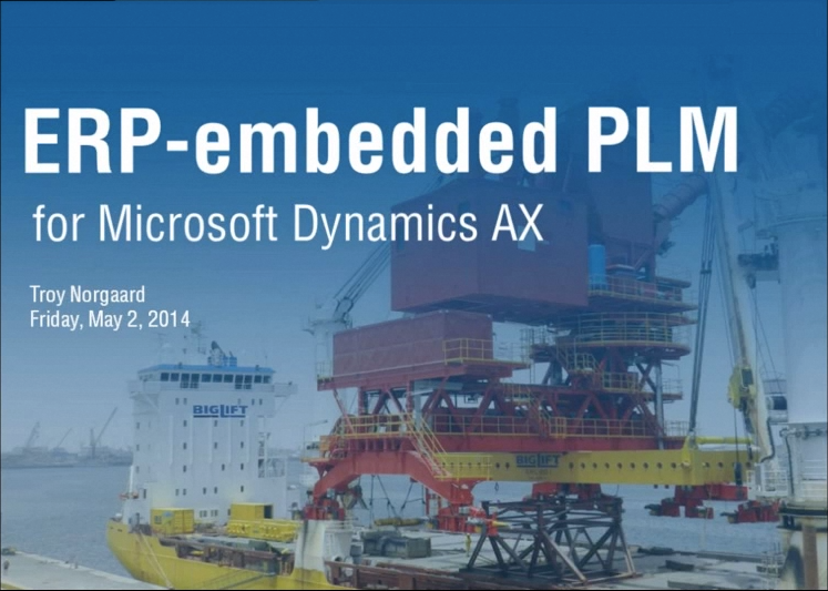 Dynamics AX PLM
