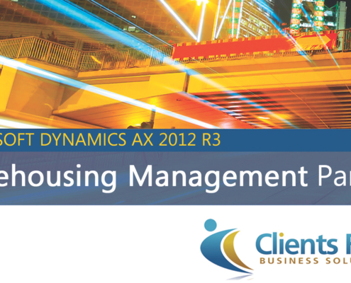 Warehousing Management Dynamics AX 2012 R3