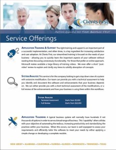 Dynamics AX Service Offerings