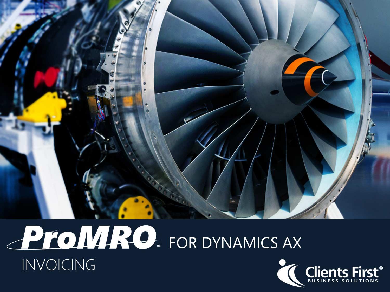 ProMRO Invoicing module