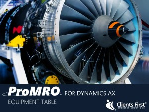ProMRO Equipment Table