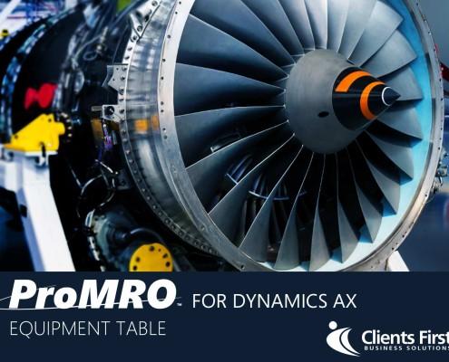 ProMRO Equipment Table