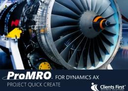 ProMRO Project Quick Create