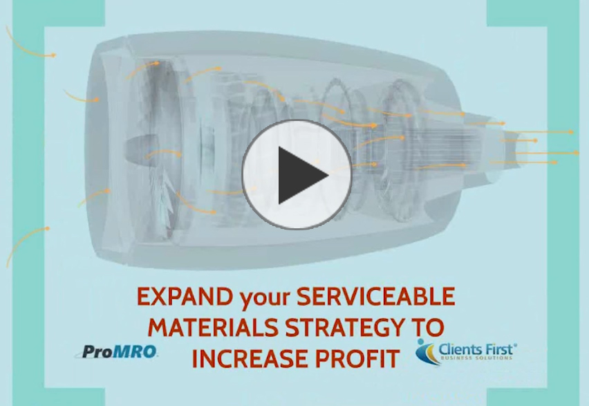 MRO Video on Serviceable Materials