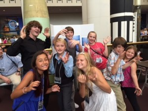 Burleson Students at Space Experiments Program
