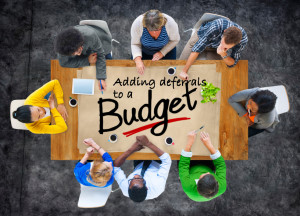Deferrals and budgeting picture