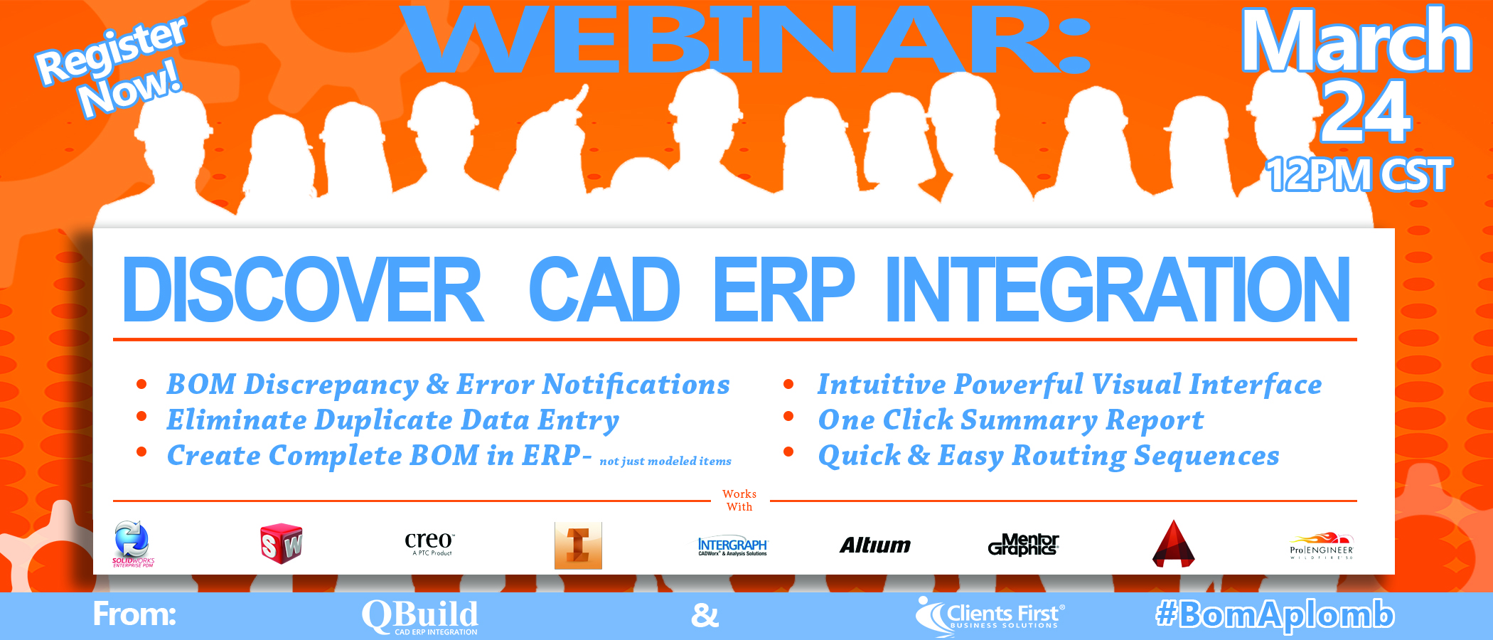 Clients First TX & Qbuild CAD Webinar Link