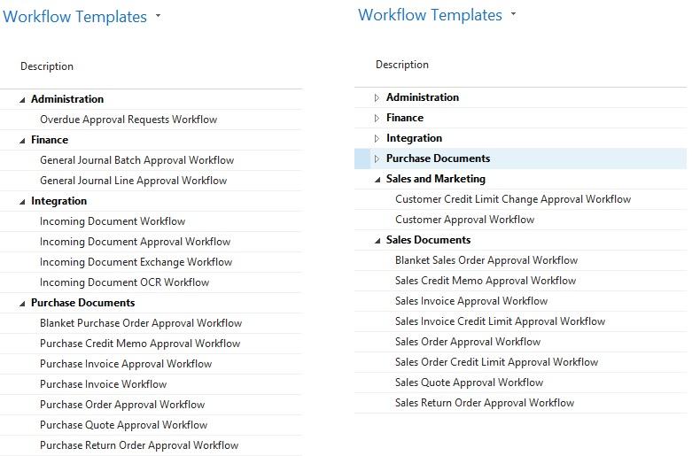 Microsoft Dynamics NAV workflow functionality making business processes easier.