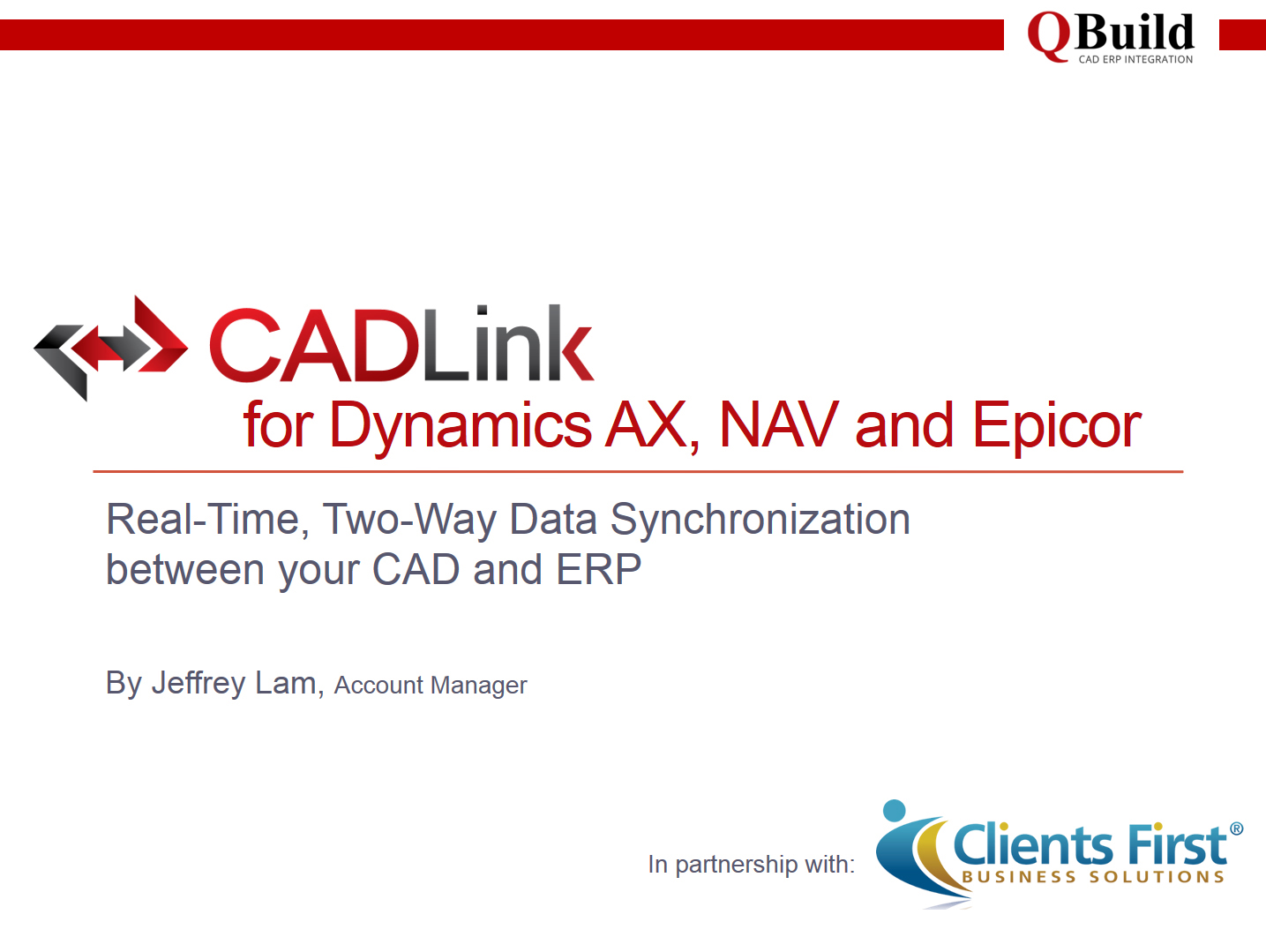 CAD to ERP Integration Video