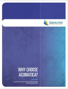 Why Acumatica