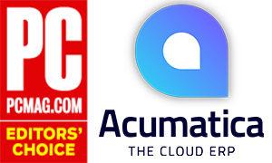 Acumatica PC Magazine editor's choice