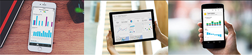 Best Business Intelligence Solution: Microsoft Power BI. Its even mobile!
