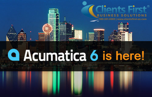 Clients First Business Solutions has Acumatica 6