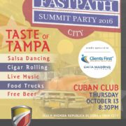 Dynamics Summit 2016, Taste of Tampa Summit Party