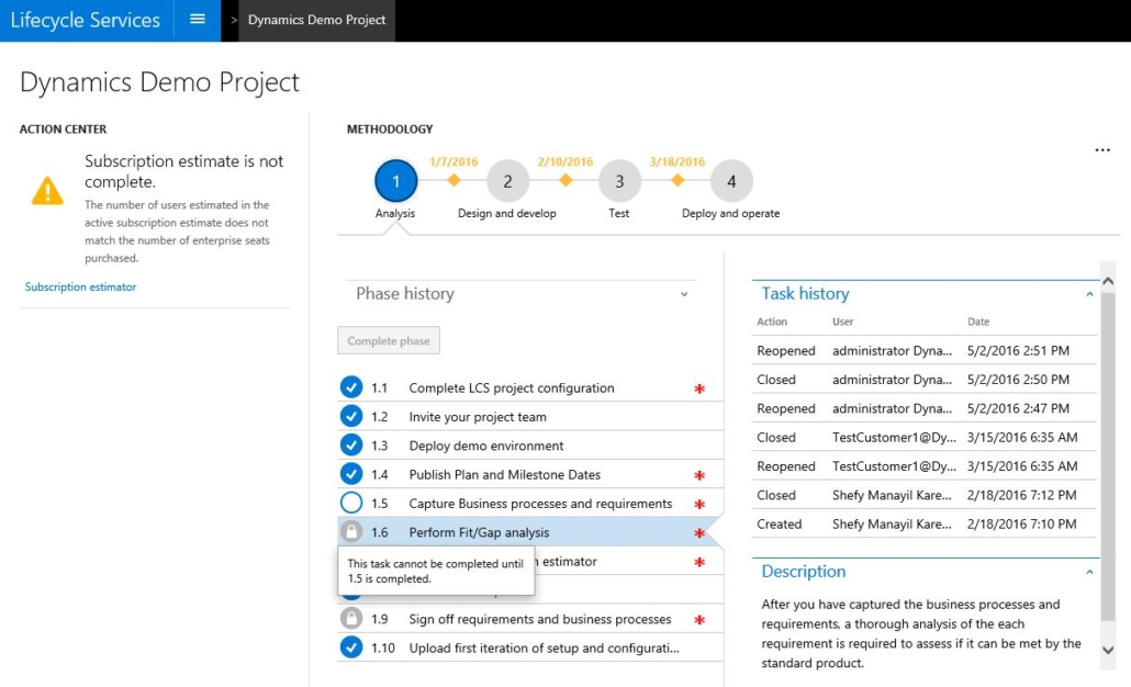Preview of Dynamics 365 for IT Professionals