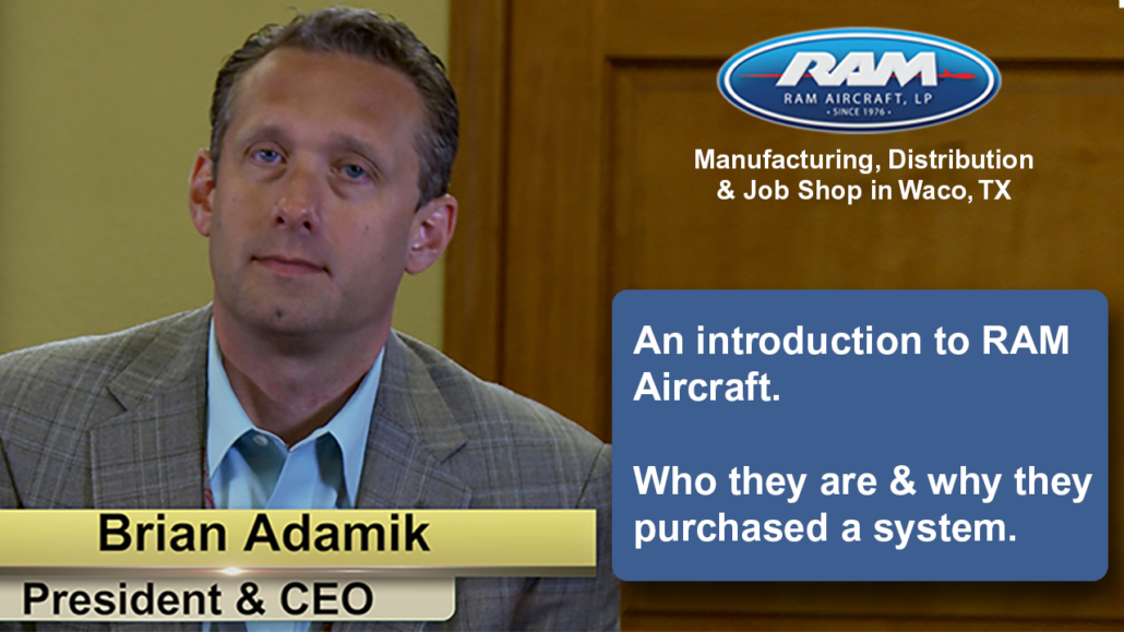 An Introduction To RAM Aircraft & Why They Bought A New System