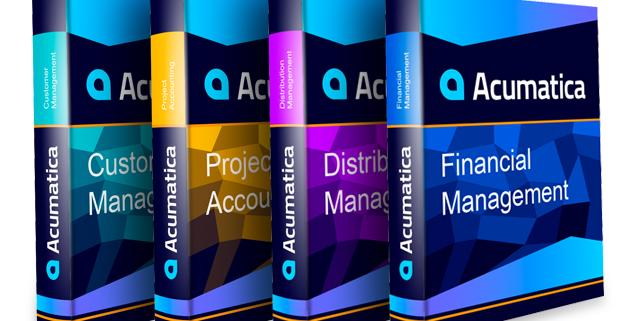 Acumatica New Module Releases 2017