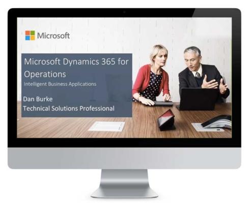 Watch Dynamics 365 Enterprise on Demand