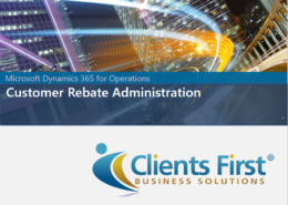 Dynamics 365 Enterprise Customer Rebate Demo