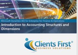 Dynamics 365 Enterprise Dimensions