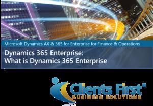 What is Dynamics 365 Enterprise