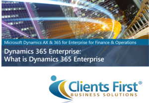 What is Dynamics 365 Enterprise