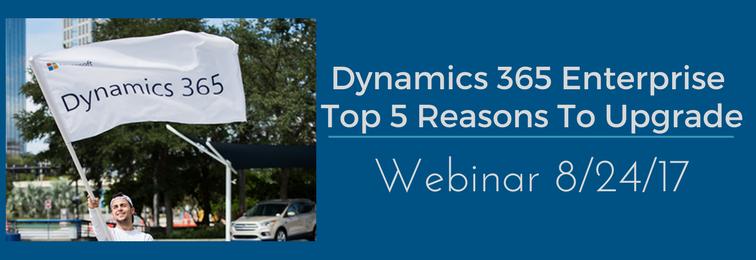 Dynamics 365 Enterprise Demo