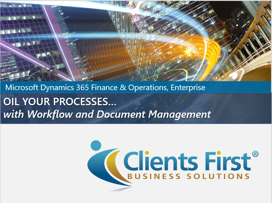 Dynamics 365 Enterprise Document Management & Workflow