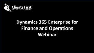 Dynamics 365 Top Features Demo