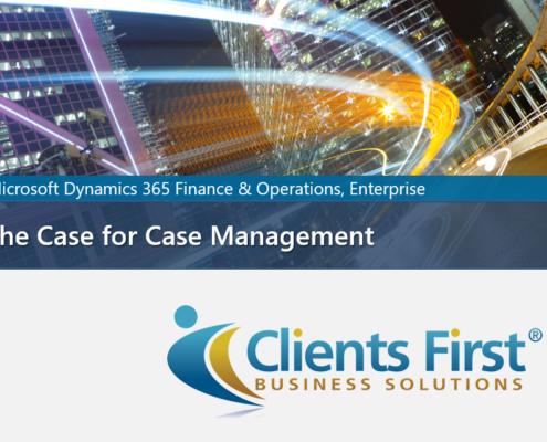 Dynamics 365 Enterprise Case Management Video