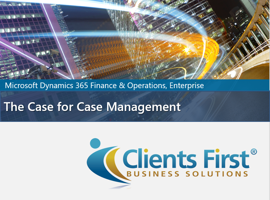Dynamics 365 Enterprise Case Management Video