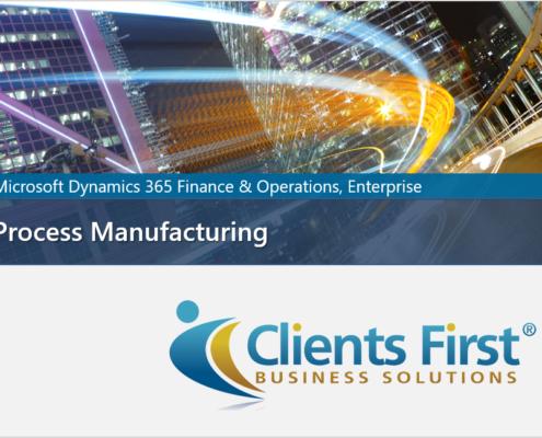 Dynamics 365 Process Manufacturing Video