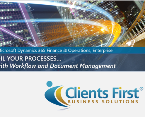 Dynamics 365 Document Management and Workflow