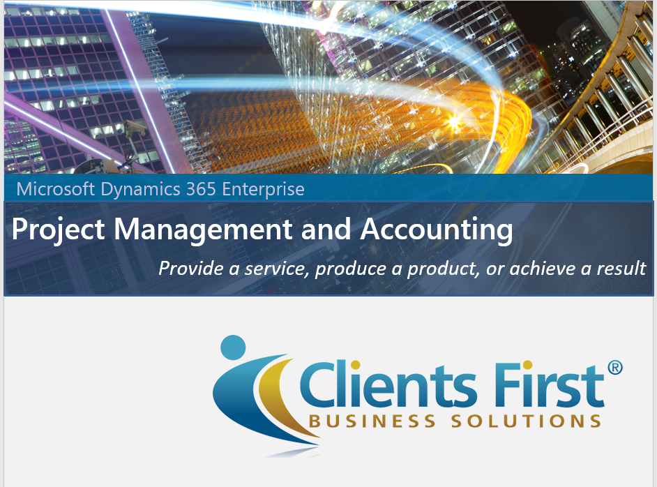 Dynamics 365 For Finance Amp Operations Project Accounting