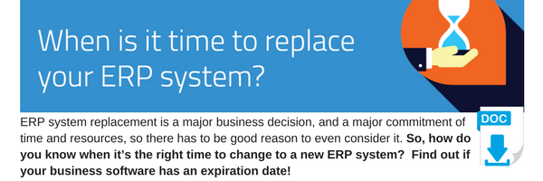 When is it Time to Replace ERP