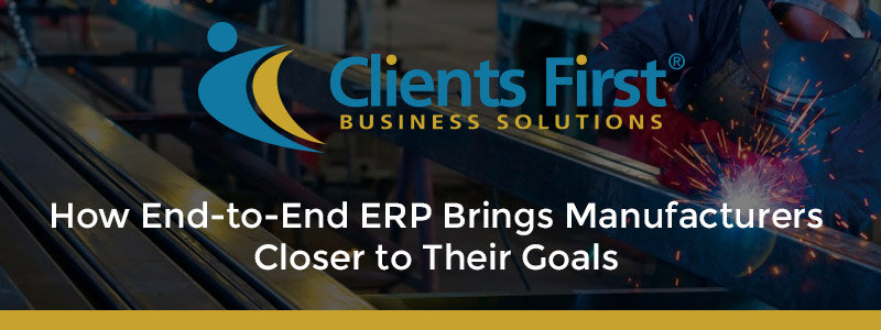 End-to-End Manufacturing ERP