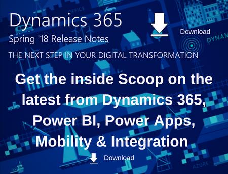 Dynamics 365 Spring 18 Update Whitepaper