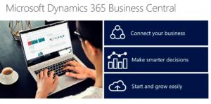 Dynamics Business Central Header