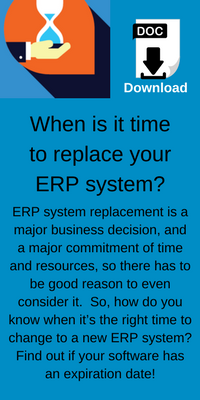 When is it time to replace your erp