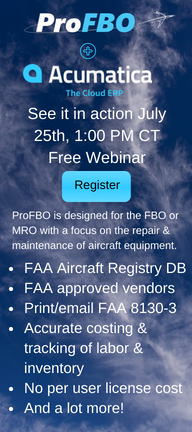 FBO MRO software webinar