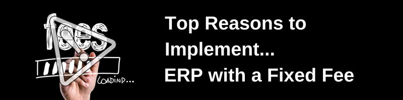 Fixed Fee ERP Project