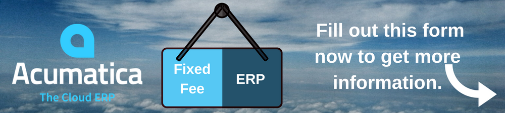 Fixed Fee ERP Homepage