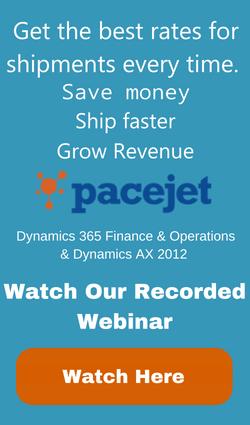 Pacejet Shipping Webinar