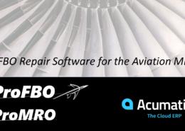 ProFBO ProMRO Maintenance Repair and Overhaul