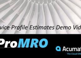 MRO Service Estimates