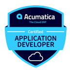 Acumatica Developer-Certification